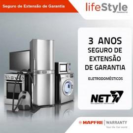 Seguro de Extensão de Garantia MAPFRE 3 Anos Electrodomésticos até 400 Euros