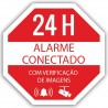 Oem AC-PEGATINA-PT Autocolante de Plástico Serigrafia Alarme Conectado - 8435325412290
