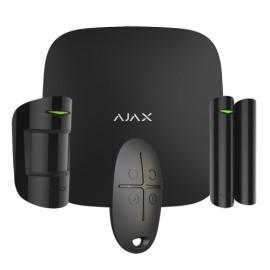 Ajax AJ-HUBKIT-B Kit de Alarme Profissional Certificado Grau 2 Preto - 0856963007101