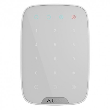 Ajax AJ-KEYPAD-W Teclado Independente Bidireccional Branco - 0856963007309
