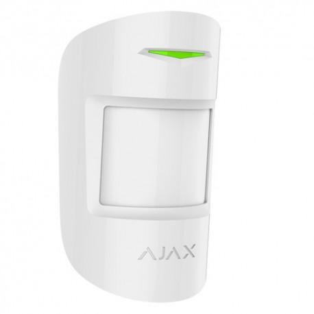 Ajax AJ-MOTIONPROTECT-W Detector PIR Imune a Animais Domésticos Branco - 0856963007200