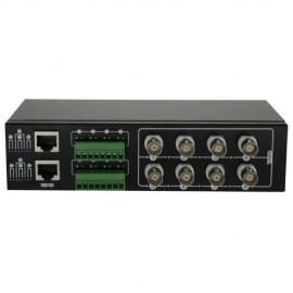 Oem BA608P-HD Video Balun para HDTVI HDCVI AHD 8 Canais Passivos - 8435325418568