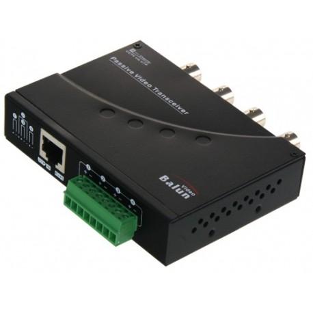 Oem BA614P-HAC Video Balun para HDTVI / HDCVI / AHD 4 canais passivos