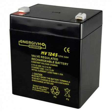 Oem BAT1245-MV Bateria Recarregável Chumbo-Ácido 12V 4.5Ah