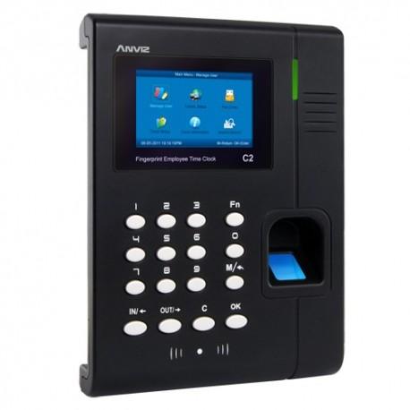 Anviz C2 Terminal de Controlo de Presença Impressões Digitais Cartões RFID e Teclado