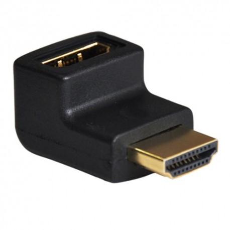 Oem CON-HDMI-L Adaptador HDMI HDMI 1.3 Cotovelo 90 Graus Macho Fêmea - 8435325426921