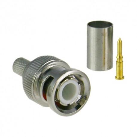 Safire CON100 Conector BNC para Cravar - 8435325415239
