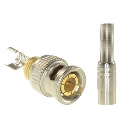 Safire CON116 Conector BNC para Soldar - 8435325415253