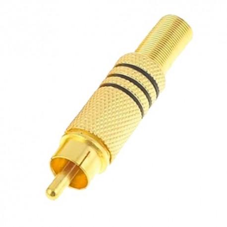 Oem CON117 Conector RCA Macho para Soldar - 8435325415383