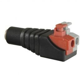 Safire CON285A Conector DC Macho de Fácil Conexão - 8435325422367