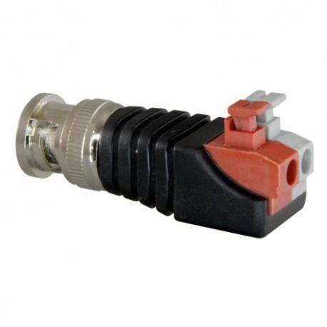 Safire CON290A Conector BNC Macho de Fácil Conexão - 8435325422374