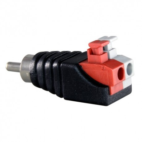 Safire CON295A Conector RCA Macho de Fácil Conexão - 8435325422381