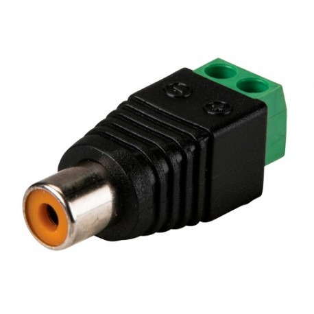 Safire CON296 Conector RCA Fêmea - 8435325415352