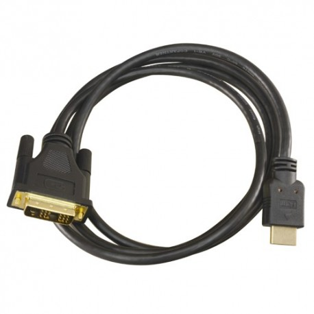 Oem DVI-HDMI-2 Cabo DVI a HDMI Conector HDMI Tipo A Macho