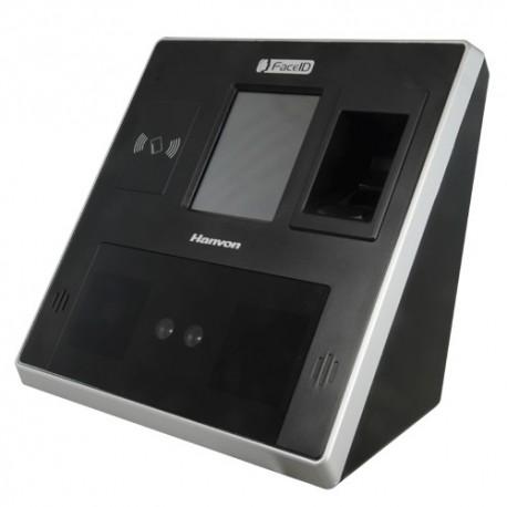 Hanvon FACE-MT500 Controlo de Presença e Acesso Hanvon FaceID Sistema Biométrico Facial com Duplo Sensor - 8435325425184