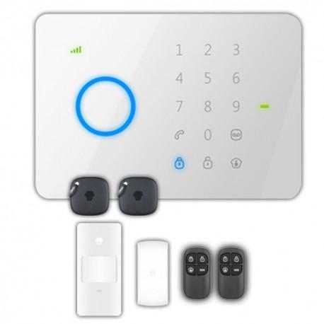 Chuango G5PLUS Kit de alarme doméstico Painel táctil com módulo GSM