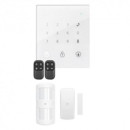 Chuango GO2 Kit de Alarme Doméstico Painel Táctil com Módulo GSM - 8718868403759