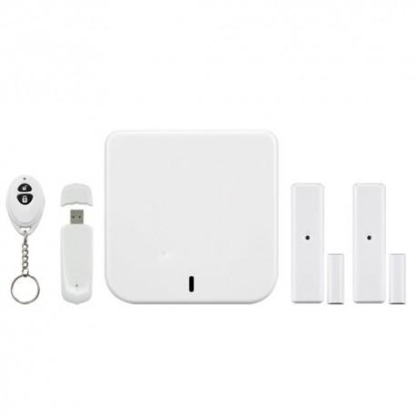 Home8 H21004EU Kit de Alarme Doméstico Conexão Internet/IP Cloud - 8435325423814