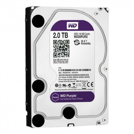 Western Digital HD2TB Disco Rígido 2TB