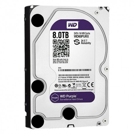 Western Digital HD8TB Disco Rígido 8TB