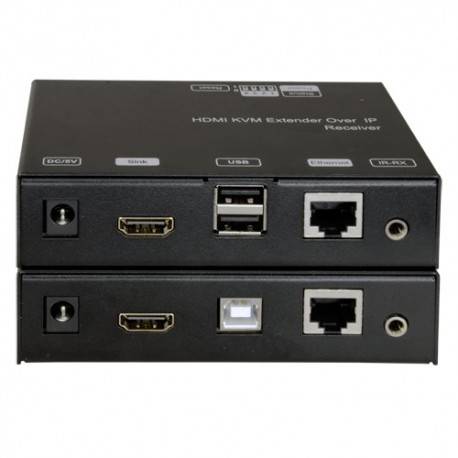 Oem HDMI-KVM-EXT Extensor HDMI/USB por TCP/IP Emissor e receptor