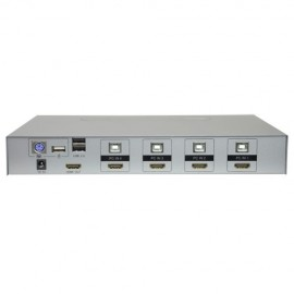 Oem HDMI-KVM-SW-4K HDMI KVM Switch Até 4 Entradas 4K - 8435325428451