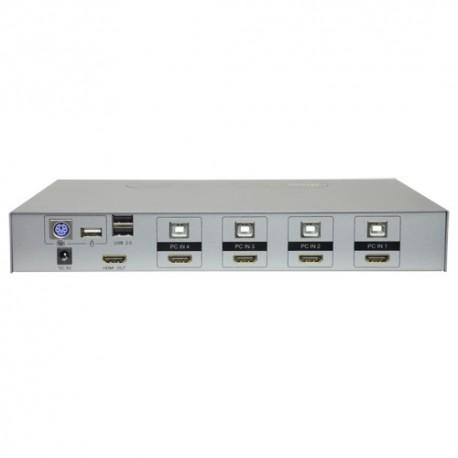 Oem HDMI-KVM-SW-4K HDMI KVM Switch Até 4 entradas 4K