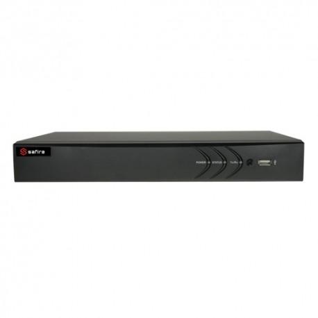 Safire HTVR3104 Videogravador 5n1 Safire 4 CH HDTVI / HDCVI / AHD / CVBS / 1 IP