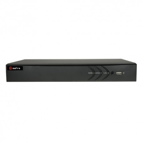 Safire HTVR3104A Videogravador 5n1 Safire 4 CH HDTVI / HDCVI / AHD / CVBS / 1 IP