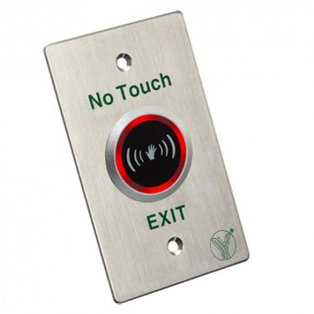 Oem ISK-841D Botão de Saída Sem Contacto Sensor Infravermelhos com LED indicador - 8435325428017