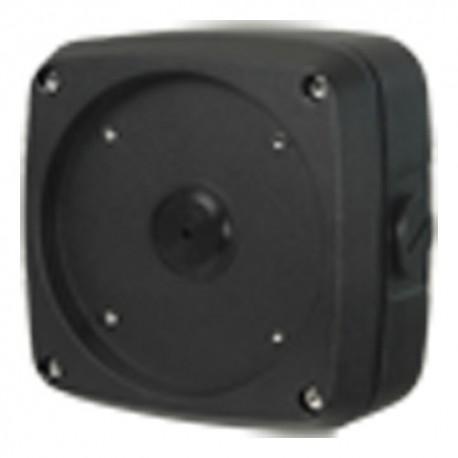 Branded PFA124-B Caixa de Conexões para Câmaras Compactas ou Domes Preto - 8435325426563
