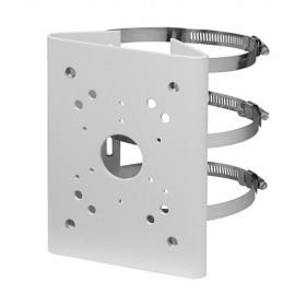 X-Security PFA150 Suporte para Mastros/Postes para Câmaras Dome Motorizadas Branco