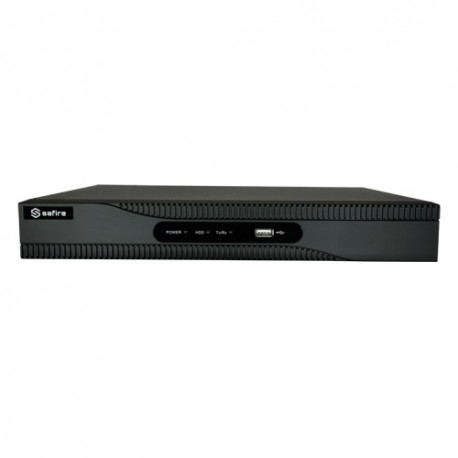 Safire SF-HTVR6216AP-HEVC Videogravador 5n1 H.265+ Power Over Coaxial (PoC Safire) - 8435325426228