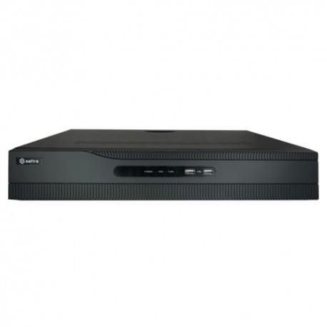Safire SF-NVR6432-4K16P Gravador NVR para Câmaras IP 32 CH Vídeo 16 Portas PoE - 8435325424446