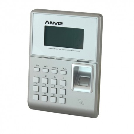 Anviz TC550 Controlo de Acesso e Presença Impressões Digitais Cartão RFID e Teclado - 8435325414683