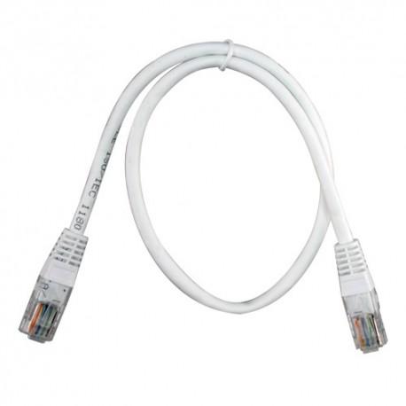 Oem UTP1-05W Cabo UTP Ethernet 0.5 Metros Branco - 8435325417615