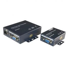 Oem VGA-EXT Extensor Ativo VGA Emissor e Receptor Alcance 100 Metros - 8435325415932