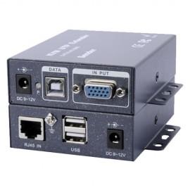 Oem VGA-KVM-EXT Extensor VGA/USB por UTP Emissor e Receptor Alcance 100 Metros - 8435325415949