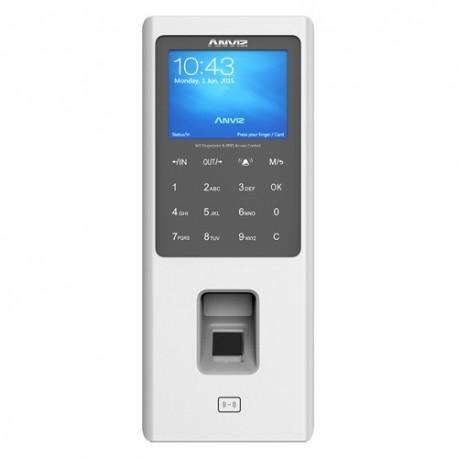 Anviz W2 Leitor Biométrico Autónomo Impressões Digitais RFID e Teclado