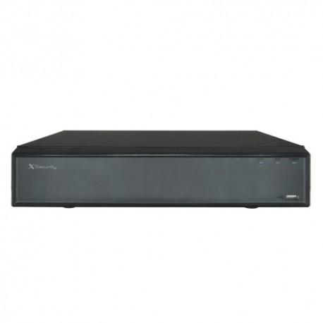 X-Security XS-NVR2108-4KH Gravador NVR para Câmaras IP 8 CH Vídeo IP até 8 Megapixel - 8435325428925