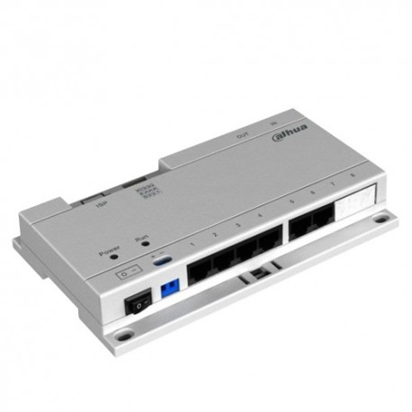 X-Security XS-V1060SW-IP Switch PoE Específico 6 Portas de Saída IP - 8435325427676