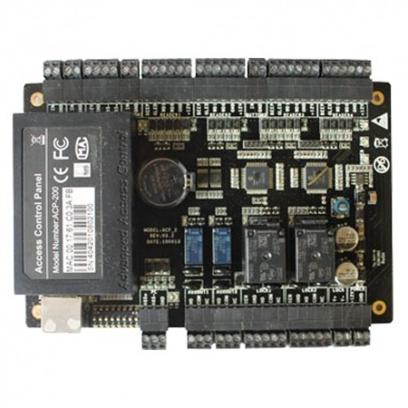 Zkteco ZK-C3-200 Controladora de Acessos RFID Acesso por Cartão EM/Mifare ou Password - 8435452820012