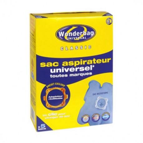 Conj. 5 Wonderbags Classic Univ. Ant. Bact. Rowenta - WB406120 - 3221613010607