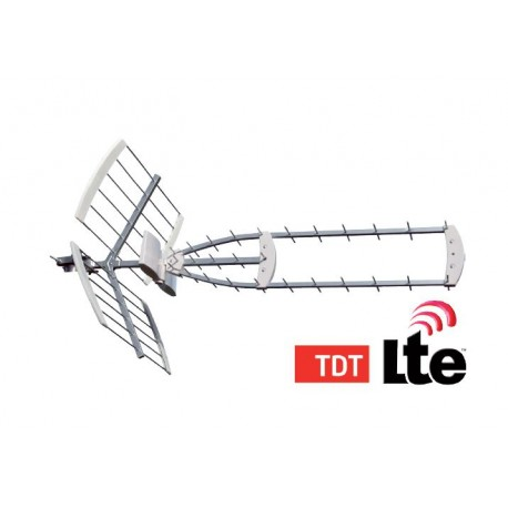 Antena Uhf Triple Ax - 2901045 - 5604634087557