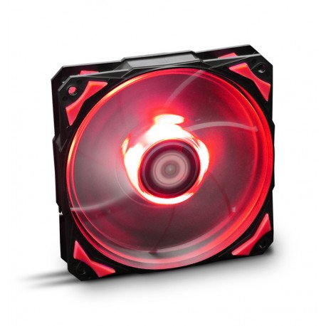 Cooler NOX Hummer H-Fan 120 LED Red - NXHUMMERF120LR