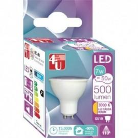 LAMPADA 4U LED REF-7W-GU10-400471 - 8430624404717