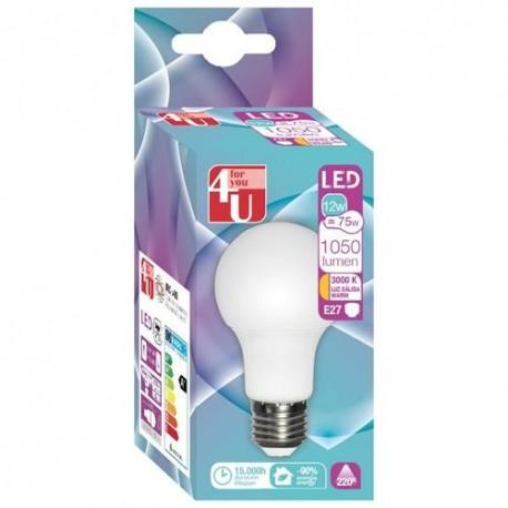 LAMPADA 4U LED STD-12W-E27-400461 - 8430624404618