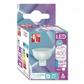 LAMPADA 4U LED G5.3 12V-5W-400469 - 8430624404694