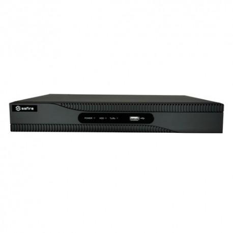Safire SF-HTVR6108-HEVC Videogravador 5n1 H265+ Poupa Espaço e Largura de Banda - 8435325429137