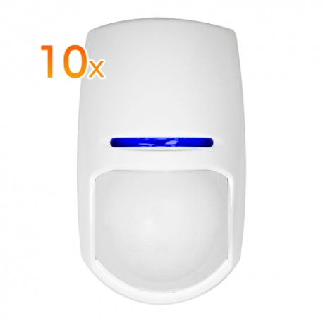Pyronix 10XKX15DD Pack de 10 Detectores Interior
